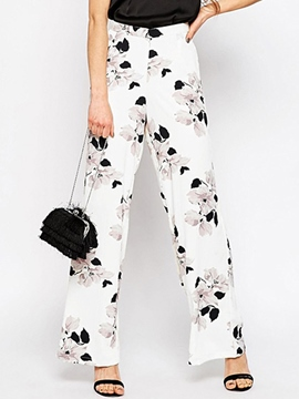 Ericdress Fashion Print Casual Pants