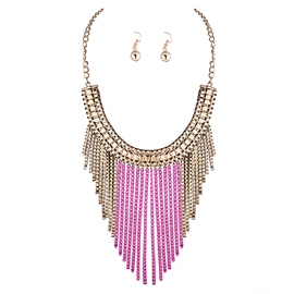 Ericdress Classic Alloy Tassels Jewelry Set