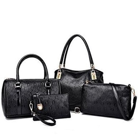 Ericdress Casual Embossed Handbags(4 Bags)