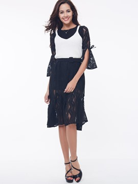 Ericdress Elegant Lace Dress Suit