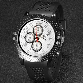 Ericdress Double Scale Hollow Design Men's Watch