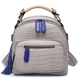 Ericdress Casual Vintage Serpentine Backpack