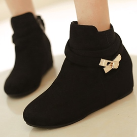 Ericdress Lovely Cross Strappy Ankle Boots