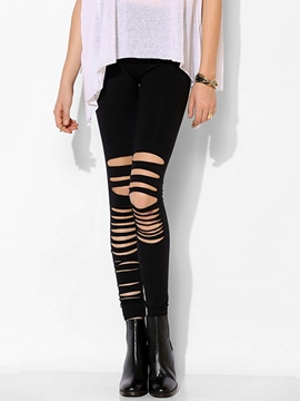 Ericdress Fashion Hollow Leggings Pants