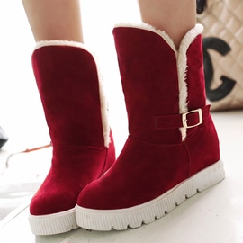 Ericdress Sweet Suede Snow Boots