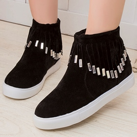 Ericdress Rhinestone Tassels Ankle Boots
