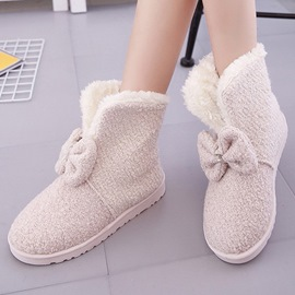Ericdress Lovely Bowknot Snow Boots