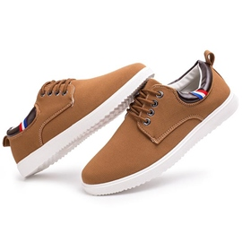 Ericdress All Match Plain Men's Canvas Shoes