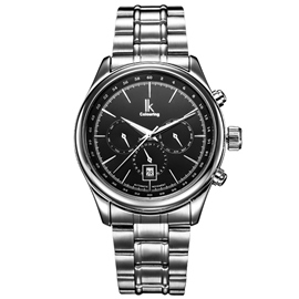 Ericdress Stainless Steel Band Men's Mechanical Watch
