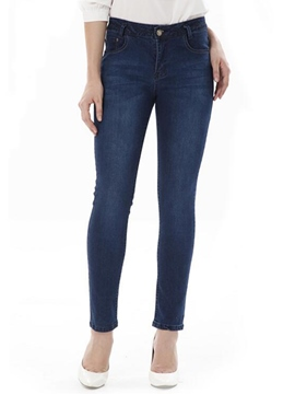 Ericdress Skinny Straight Jeans