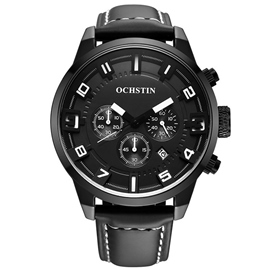 Ericdress Multi-Function Three Dial Design Men's Watch