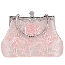 Ericdress Vintage Silken Embroidery Evening Clutch