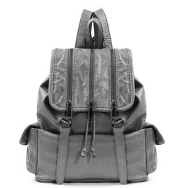 Ericdress Street Casual Belt Decorated Backpack