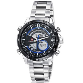 Ericdress Business Steel Band Men's Quartz Watch