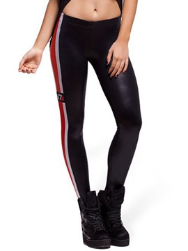Ericdress Unique Color Block Sports Leggings Pants