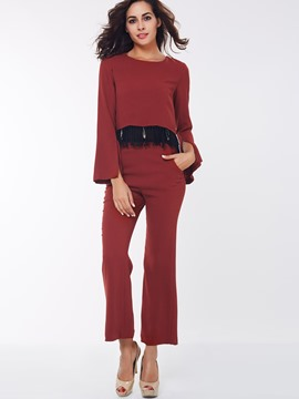 Ericdress Elegant Casual Pants Suit