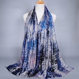 Ericdress Ink Printing Voile Scarf