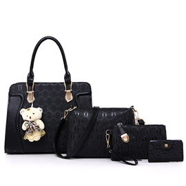 Ericdress Vogue Embossed Handbags(4 Bags)