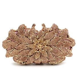 Ericdress Novelty Diamante Flower Evening Clutch
