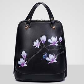 Ericdress Ethnic Floral Print Backpack