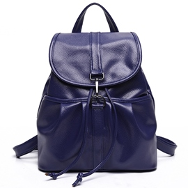 Ericdress Lichee Pattern Pleated Backpack