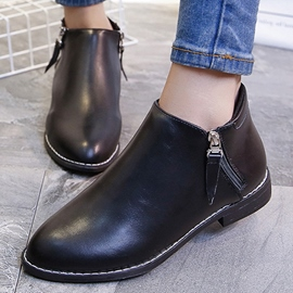 Ericdress Simple Point Toe Ankle Boots
