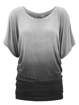 Ericdress Round Neck Short Sleeve T-Shirt