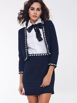 Ericdress Fashion Three-Piece Suit
