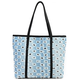 Ericdress Casual Simple Ripped Tote Bag