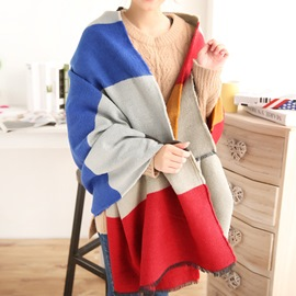 Ericdress Knitted Thickening Scarf/Shawl