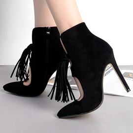Ericdress Fashion Tassels High Heel Boots
