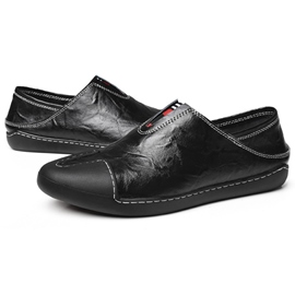 Ericdress Western PU Thread Slip-On Men's Loafers
