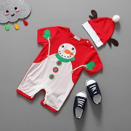 Ericdress Fabric Embroidery Patch Christmas Boys Outfit