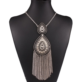 Ericdress Long All-Match Tassels Necklace