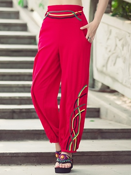 Ericdress Chinese Ethnic Lantern Pants