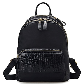 Ericdress Stone Pattern Embossed Backpack