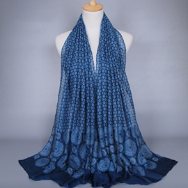 Ericdress Classic Chinese Style Printed Scarf