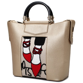 Ericdress Simple Temperament Shoes Print Handbag