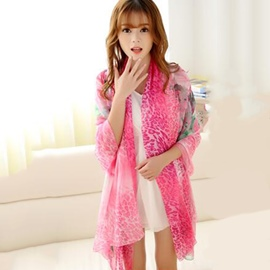Ericdress New Style Printed Long Shawl Scarf