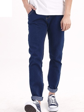 Ericdress Denim Casual Men's Pants
