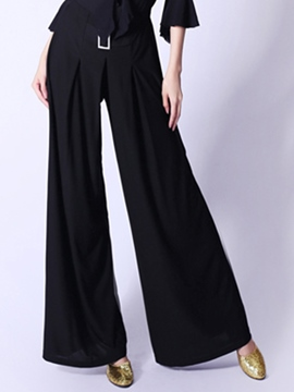 Ericdress Simple Loose Dance Pants