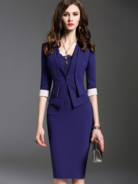 Ericdress Fashion Elegant Blazer Suit