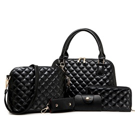 Ericdress Multifunction Classic Plaid Handbags(5 Bags)