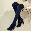 Ericdress Simple Vintage Knee High Boots