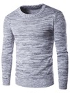 Ericdress Simple Plain Pullover Men's Sweater