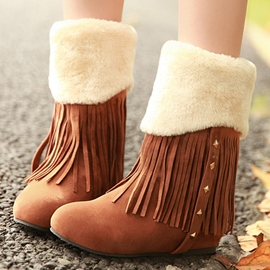 Ericdress Lovely Rivets&tassels Snow Boots