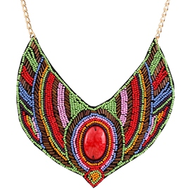 Ericdress Colorful Beading Necklace