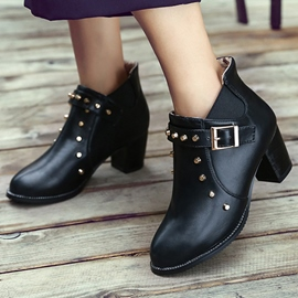 Ericdress Fashion Rivet Ankle Boots