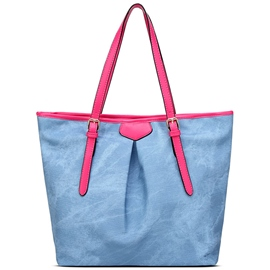 Ericdress Casual Wrinkle Decorated Tote Bag