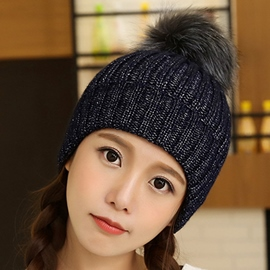 Ericdress Lovely Mixed Color Knitted Hat